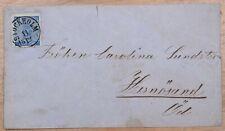 Mayfairstamps Sweden 1871 Stockholm to Hernosand Cover wwk58497