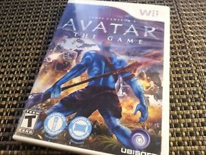 Avatar The Game Nintendo Wii Video Game Complete & TESTED