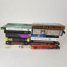 Lot of 14 Books Christian Science Conspiracy Mystery Evolution Faith