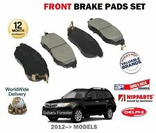 FOR SUBARU FORESTER 2.0DT EE20Z 2.0i FA20E 2012-->NEW FRONT BRAKE DISC PADS SET
