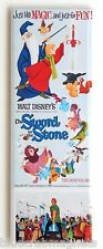 Sword in the Stone FRIDGE MAGNET (1.5 x 4.5 inches) insert movie poster