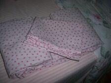 Rachel Ashwell Simply Shabby Chic Pink Tiny Rosebud Mon Ami TWIN Sheet Set
