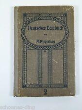Kippenberg, A.: Deutsches Lesebuch A2, 1917