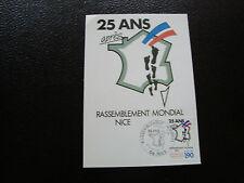 FRANCE - carte 1er jour 27/6/1987 (rassemblement des pieds-noirs) (cy59) french