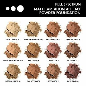 Covergirl Matte Ambition,All Day Powder Foundation-.39 oz/11g -5 colors