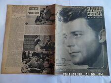 RADIO CINEMA TELEVISION N°334 10/06/1956 GERARD PHILIPE   G13