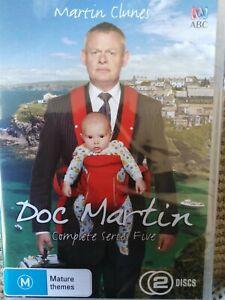 Doc Martin : Series Season 5 DVD 2-Disc Set Reg 4 NEW Sealed Fast FREE Postage