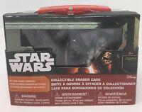 Disney Star Wars Collectible Eraser Case - Chewbacca, Storm Trooper And Kylo Ren