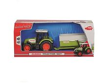 Dickies toys claas tracteur avec trailor new boxed