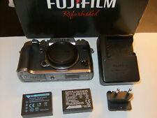 FUJI Fujifilm X-T1 SPECIAL EDITION GRAPHITE SILVER CAMERA BODY  + spare battery