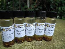 Mandrake oil anointing magical oil spell supplies spells witchcraft Occult