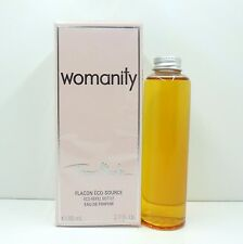 THIERRY MUGLER WOMANITY EAU DE PARFUM ECO-REFILL BOTTLE 80 ML / 2.7 OZ. NIB