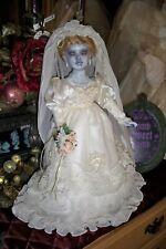Haunted Mansion Attic Ghost Bride Doll Inspired ~ Ooak Horror Art Creepy Doll