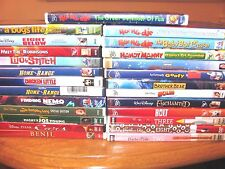 Disney: Lot of 25 DVDs; Nemo,Cars,Enchanted,Classics and More] Girls & Boys