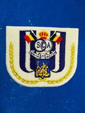 European cup Belgium anderlecht logo football embroidery patch badge