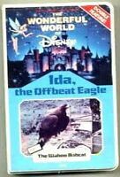 vhs The Wonderful World of DISNEY IDA The Offbeat Eagle 1965 Wahoo Bobcat 1963
