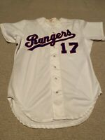 Vintage Texas Rangers Game Used Worn Minor League Jersey