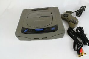 Sega Saturn  Console  Gray  Tested Working Japan O4A