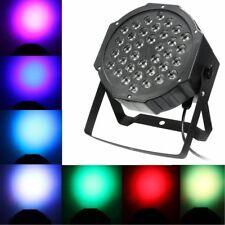 FARO STROBO RGB DJ FARETTO LAMPADA 36 LED DA 36W COLORI EFFETTO DISCOTECA SENSOR