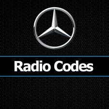Código de radio Mercedes Alpine AL2910 AL2199 Audio 10 COCHE Sprinter Benz Códigos Desbloquear