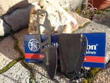 SW991 Couteau De Cou Tactical Smith&Wesson Acier 8Cr13MoV Manche Abs Etui Nylon