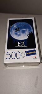 BLOCKBUSTER ET E.T. Extra-Terrestrial Jigsaw Puzzle - 500 PIECES (45 x 60cm)