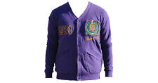 Omega Psi Phi Fraternity Cardigan- Purple- Size 4XL- New!