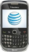 New listing At&T Cricket Tracfone H2O Net10 Wireless Blackberry Curve 3G 9300 Gray Gsm Good