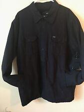 New Hurley Men's XXL Sherpa Lined Backroad Shirt Jacket MVS0002910 00A 2X