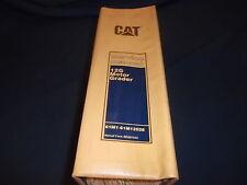 CAT CATERPILLAR 12G MOTOR GRADER SERVICE SHOP REPAIR BOOK MANUAL S/N 61M1-12026