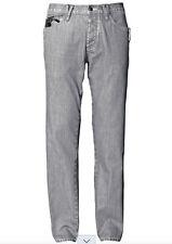 JEANS alla moda ed Pantaloni con permanent pieghe e matter lucentezza rivestimento MIS. 34