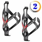 Ibera Bicycle Aluminum Alloy Plate Water Bottle Cage Cycling Holder BC14-CB-PAIR