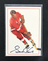 1994 Gordie Howe Parkhurst Missing Link Lucky Autograph Card A-1 Signed Red Wing