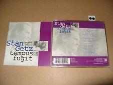 Stan Getz  Tempus Fugit (2000) 2 cd Ex+/Inlays are Excellent condition