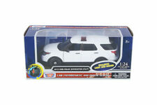 2015 FORD POLICE INTERCEPTOR UTILITY with Light and SOUND 1/24 DIECAST MODEL CAR