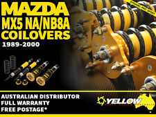 YELLOW-SPEED RACING COILOVERS Mazda MX5 NA/NB8A 89-00 yellowspeed coil over