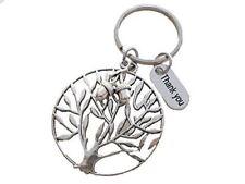 Appreciation Gift, Thank You, Tree & Acorn Seeds Keychain- Teachers Plant Seeds