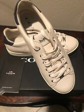 Women's Coach C126 Low Top Leather Shoes Sneakers Boat Shoes Tennis Shoes - 11