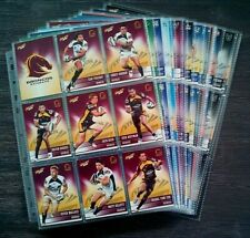 2012 NRL SELECT COMPLETE 196 COMMON TRADING CARDS WITH SLEEVES