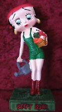 """Figurine Betty Boop Résine """"Jardinière"""" Hauteur 13 cm Neuf Emballé"""