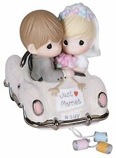 Precious Moments Just Married Porcelain Figurine Decor Wedding Gift Newlywed New
