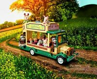 Sylvanian Families Calico Critters Woodland Bus