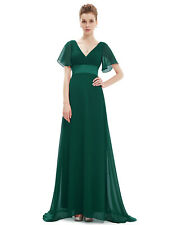 Ever-Pretty Ladies Long V-neck Summer Beach Party Evening Maxi Dresses 09890