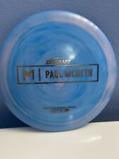 Discraft Paul Mcbeth Prototype Hades Cotton Candy Woodgrain Stamp170-172g Oop 🔥