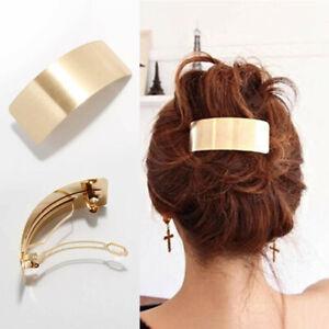 Hair Accessories Hair Clips Hairpin Pins Ponytail Grips Women's Barrette Metal