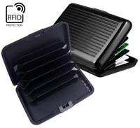 Slim Waterproof Wallet Credit Card ID Aluminum Holder RFID Blocking Case