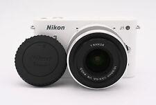 Nikon 1 J1 10.1 MP Digital Camera - White (Kit w/ VR 10-30mm Lens)