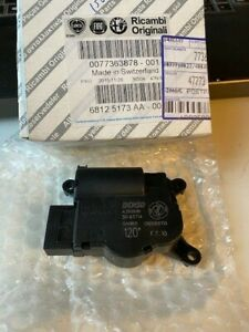 NEW Genuine Fiat Air Conditioning Heating And Ventilating Actuator 77363878