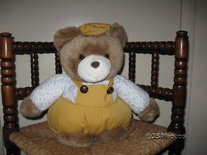 Chubby Teddy Bear L Dake & Zn Amsterdam Netherlands 80s