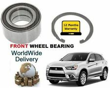 FOR MITSUBISHI ASX 1.6i  1.8DT DiD  MiVEC 2010-> FRONT WHEEL BEARING KIT
